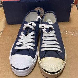 Navy Jack Purcell Converse Low. Size 7.5 Mens